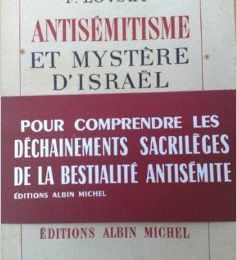L'antisémitisme musulman, Fadiey Lovsky