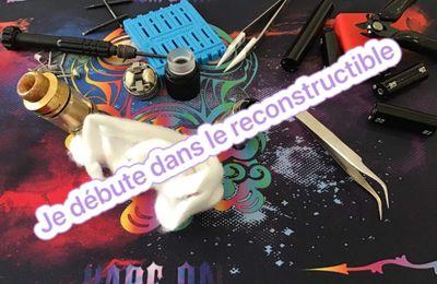 Je débute dans le reconstructible : Le montage et le cotonnage sur un reconstructible