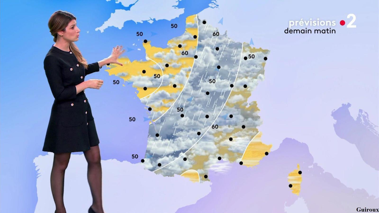 Chloé Nabédian 30/09/2020 Journaux météo du soir