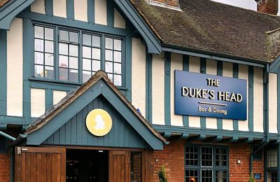 Restaurant The Dukes Head dans le Surrey en Angleterre