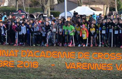 CHAMPIONNAT ACADEMIE CROSS COUNTRY 2018/2019