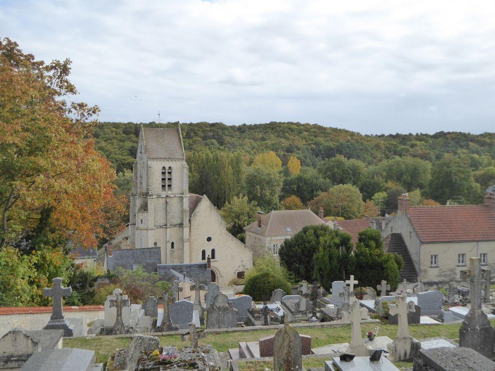 Randonnée en boucle de Saint-Martin d'Etampes - 19,4 km.