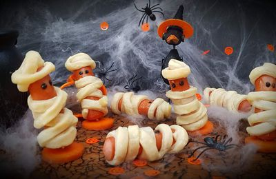 Momies d'halloween