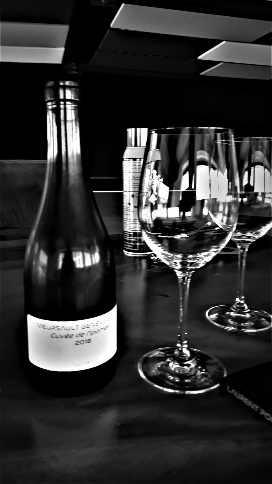 Vignobles et la cave à Laurent