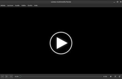 Parole : Lecteur Vidéos sous Xfce, léger et efficace ...