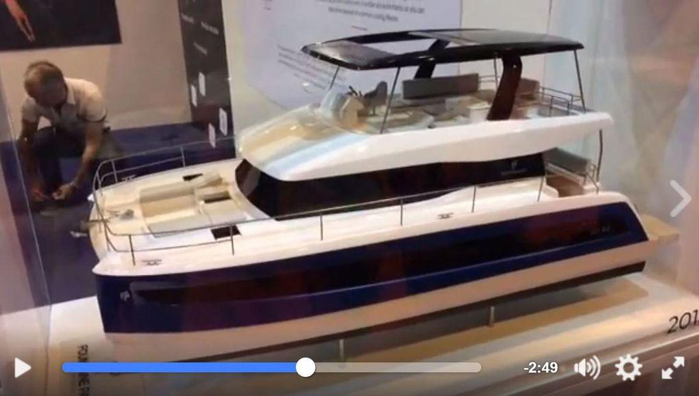 Vidéo - pour ses 40 ans, Fountaine-Pajot surfe sur la croissance et présente le bateau connecté