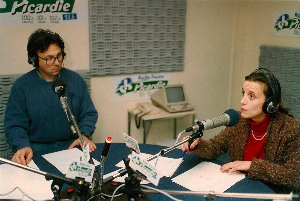 Amiens. Radio France Picardie. Picardie-Hebdo. Saison 1988-1989. © DR