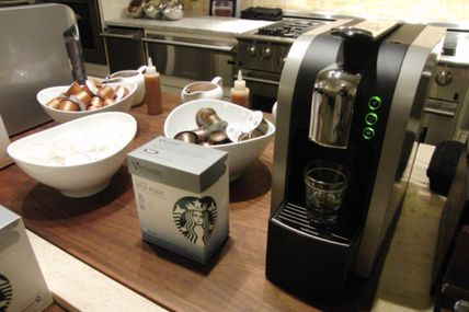 Starbucks Verismo Coffee System: Hot, Steamy Technology with a Little Milk