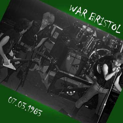 U2 -War Tour -07/03/1983 -Bristol -Angleterre -Colston Hall