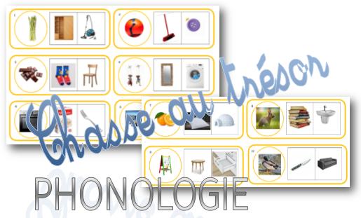 Phonologie : Une chasse au trésor