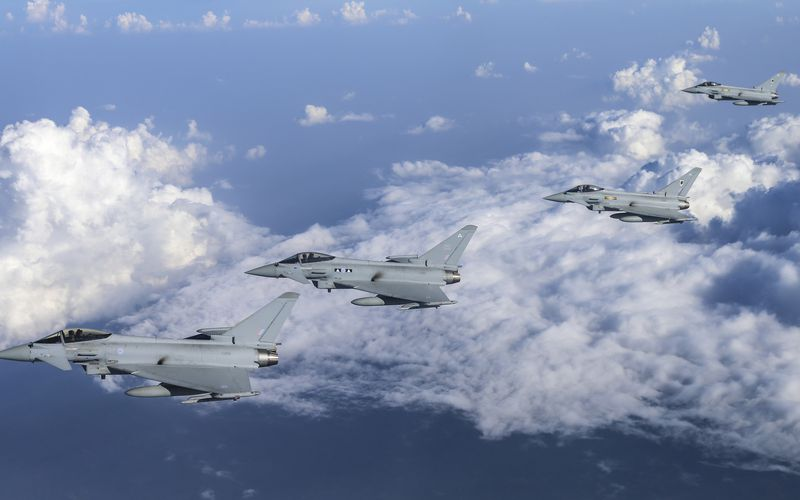 La Royal Air Force engage des Typhoon en Malaisie pour l'exercice Bersama Lima 16