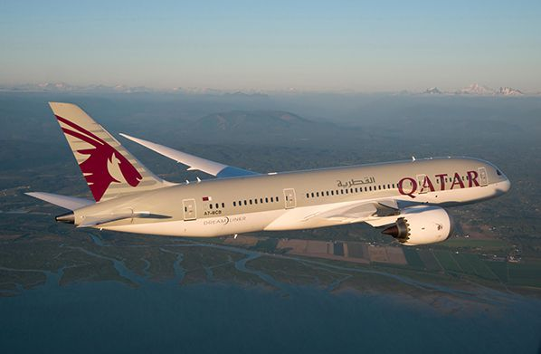 aerobernie qatar airways dreamliner