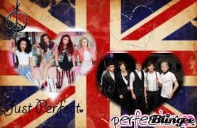 One Direction & Little Mix<3
