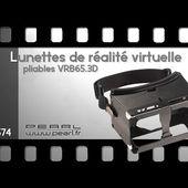 LUNETTES DE REALITE VIRTUELLE PLIABLE - Hyper compact - [PEARLTV.FR]