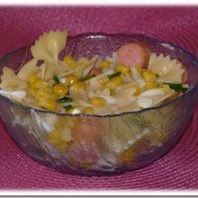 Salade aux farfalles