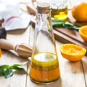 Vinaigrette à l'orange pour laitue
