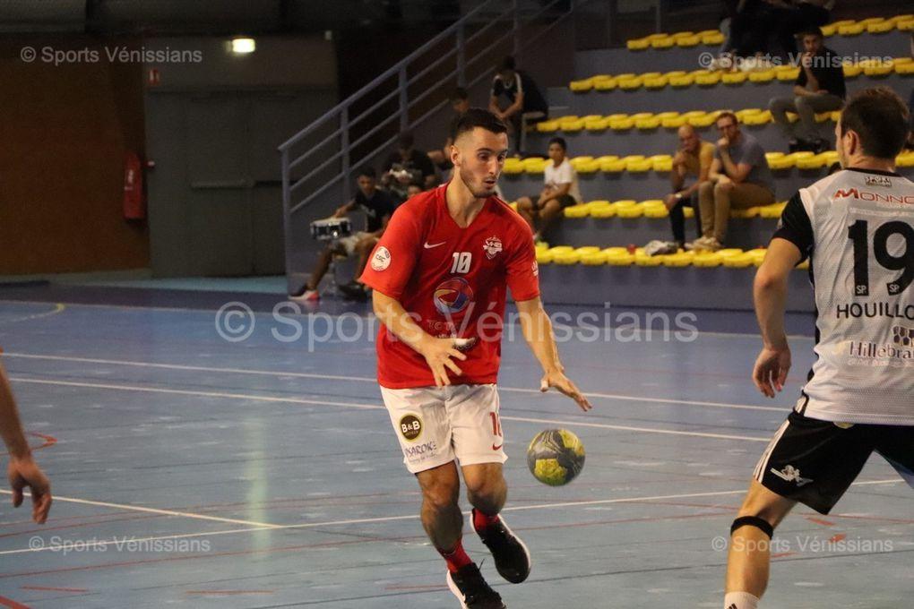 Vénissieux Handball a mis sous l'éteignoir Beaune, un des favoris de leur poule B