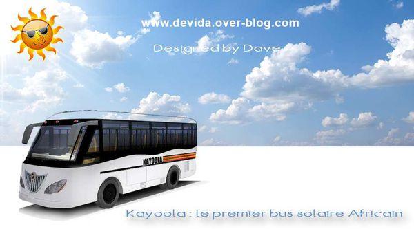 kayoola premier bus solaire africain
