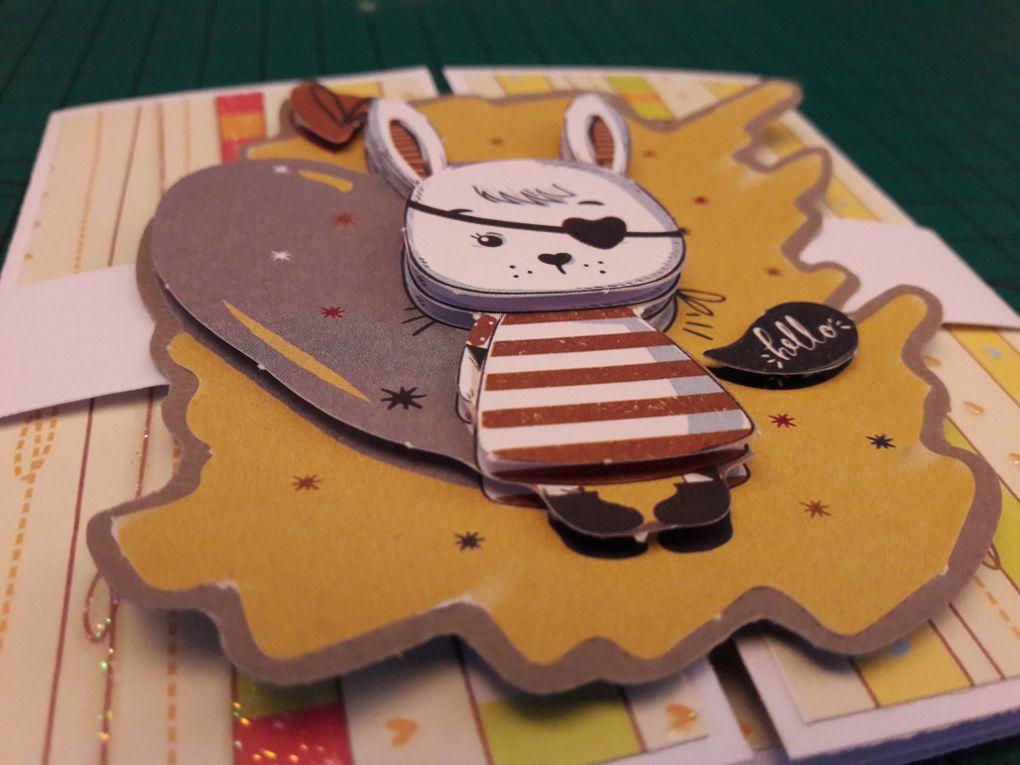 Carte d'anniversaire shutter card
