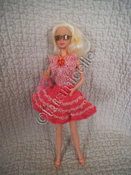 tuto gratuit barbie: tenues estivales