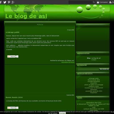 Le blog de asl