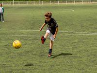 Centre Lavoisier - match de foot - 27 juillet