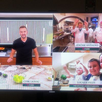 Notre passage dans l'émission «Tous en cuisine en direct avec Cyril Lignac»