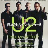 U2- Magazine Rockin'on Japonais -Décembre 2014 - U2 BLOG
