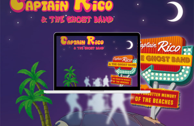 Captain Rico and the Ghost Band premier album The Forgotten Memory of the Beaches