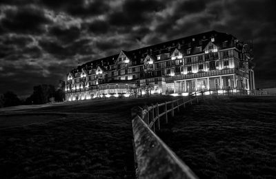 Deauville Hotel Barriere by Night