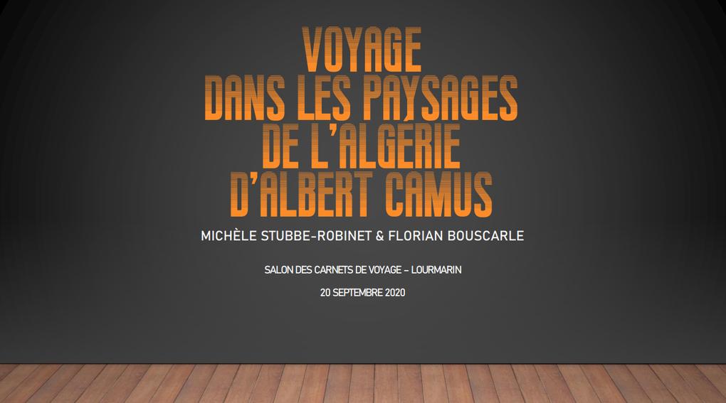 Voyage dans les paysages d'Algérie