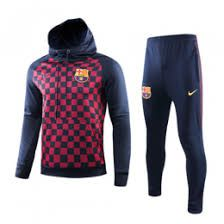 Nike Unveiled New Replica Hoodie Training Suits for Barcelona Fans