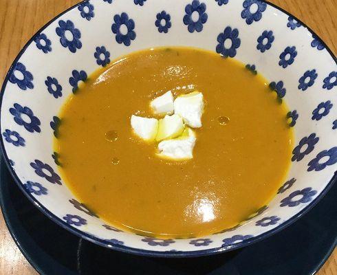Soupe de potimarron au curry