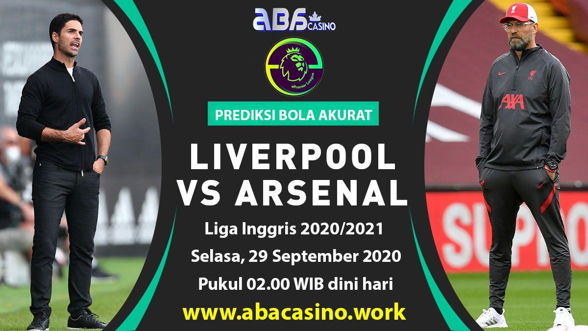 Prediksi Liga Inggris Liverpool vs Arsenal Selasa 29 September 2020
