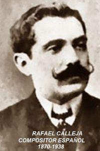 77 años sin el compositor español, Rafael Calleja