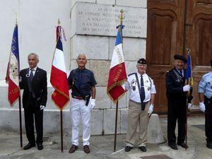 Cérémonies du 77e anniversaire de la Libération de Grenoble