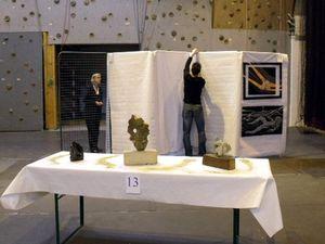 Exposition de Peintures et de Sculptures à Algrange en 2010