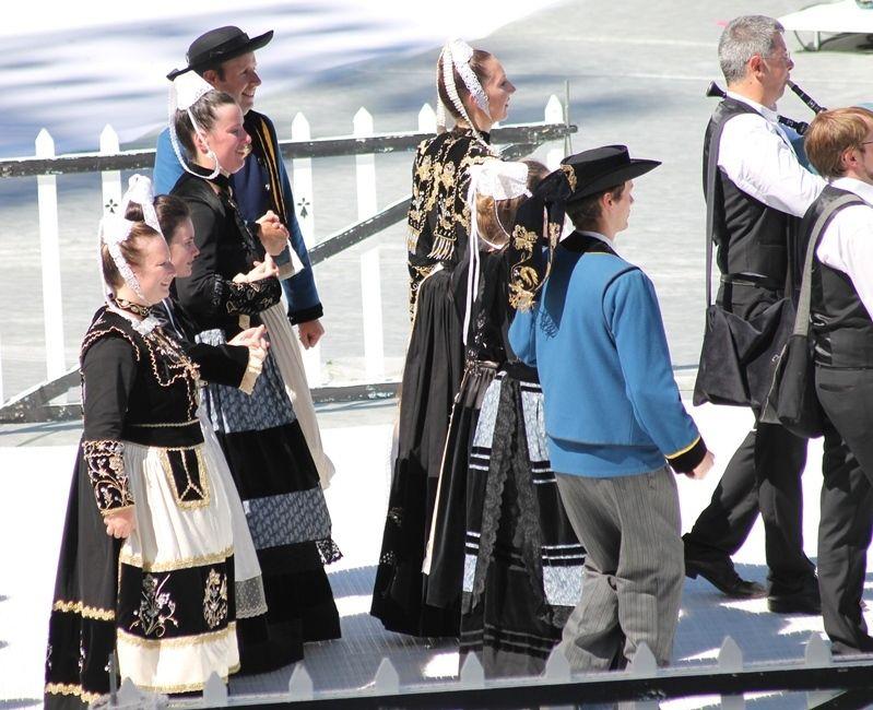 350 ans ... un anniversaire dignement fêté lors du festival interceltique
