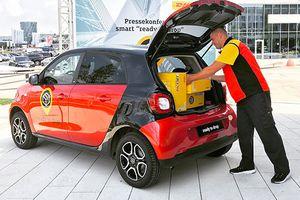 DHL livre votre colis directement dans votre Smart !