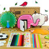 Créabul - Le coffret d'Activités Créatives pour les Enfants