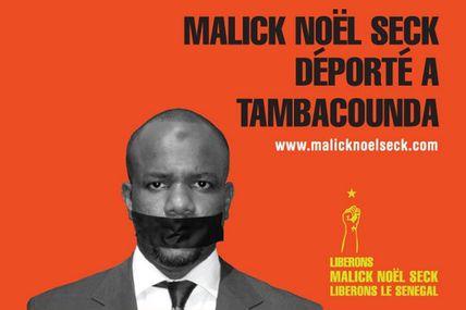 Malick Noël Seck déporté à Tambacounda - Les Sénégalais méritent leur sort !