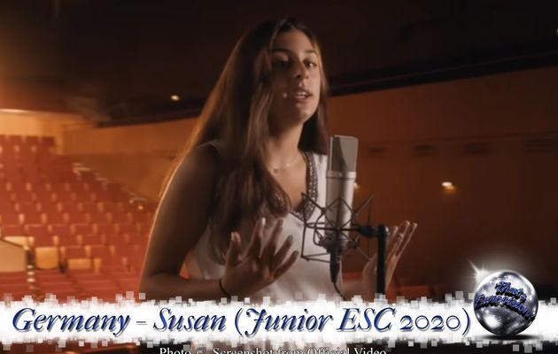 Germany - Susan - Stronger With You (Junior ESC 2020)