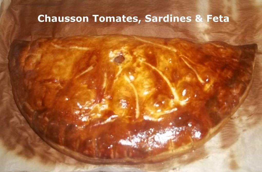 Chausson Tomates, Sardines et Feta
