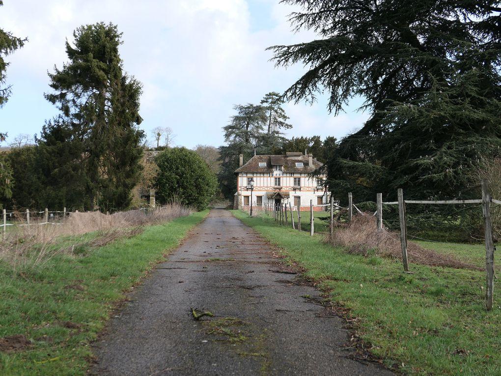 Randonnée de Mareil-sur-Mauldre à Vernouillet-Verneuil - 21,7 km.