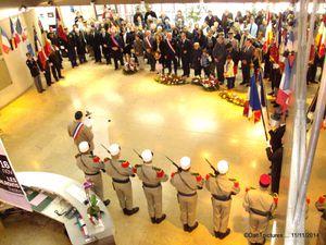 Joinville-le-Pont : L' hommage aux morts de la première guerre mondiale.