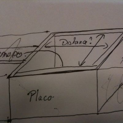 Spot avec transformateur dans le faux-plafond