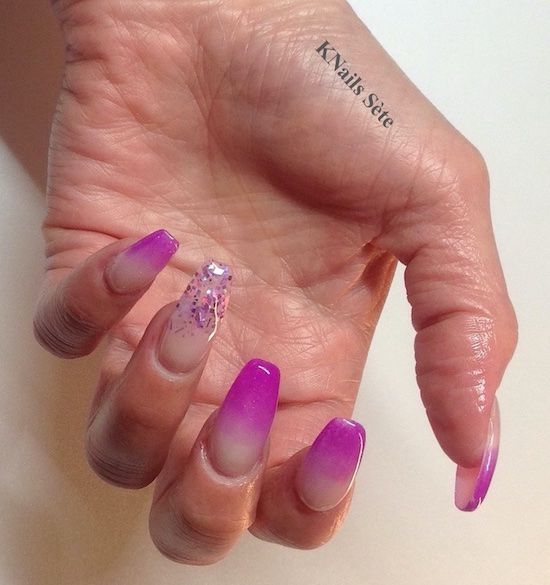 Ongles Coffin Shape