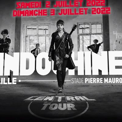 INDOCHINE: info concerts
