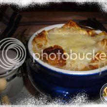 Soupe à l'oignon à la Tomme de Savoie