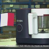 Le grand format : un Babycook made in France pour séduire une nouvelle clientèle - Le journal de 20h | TF1